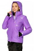 Оптом Куртка горнолыжная женская фиолетового цвета 1812F в Екатеринбурге, фото 4
