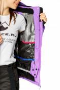 Оптом Куртка горнолыжная женская фиолетового цвета 1812F в Екатеринбурге, фото 7