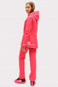 Оптом Костюм женский softshell розового цвета 01816-1R в Екатеринбурге, фото 4