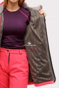 Оптом Костюм женский softshell розового цвета 018125R в Казани, фото 7