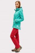 Оптом Костюм женский softshell зеленого цвета 01816-1Z в Нижнем Новгороде, фото 3