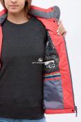 Оптом Куртка спортивная женская (плащёвка new 2019) розового цвета 1820R в Нижнем Новгороде, фото 5