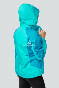 Оптом Курка спортивная женская (плащёвка new 2019) голубого цвета 1822Gl в Нижнем Новгороде, фото 3