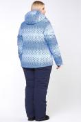 Оптом Куртка горнолыжная женская большого размера синего цвета 1830S в  Красноярске, фото 10