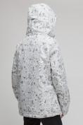 Оптом Куртка горнолыжная женская большого размера белого цвета 1830-1Bl в Екатеринбурге, фото 3