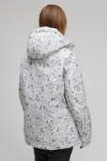 Оптом Куртка горнолыжная женская большого размера белого цвета 1830-1Bl в Екатеринбурге, фото 4