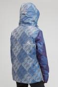 Оптом Куртка горнолыжная женская большого размера синего цвета 1830-2S в Казани, фото 3