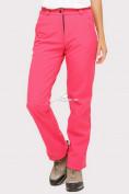 Оптом Брюки женские из ткани softshell розового цвета 1851R, фото 2