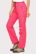Оптом Брюки женские из ткани softshell розового цвета 1851R, фото 3