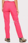 Оптом Брюки женские из ткани softshell розового цвета 1851R, фото 4