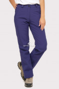 Оптом Брюки женские из ткани softshell темно-фиолетового цвета 1851TF в  Красноярске, фото 2