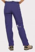 Оптом Брюки женские из ткани softshell темно-фиолетового цвета 1851TF в  Красноярске, фото 4