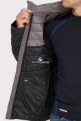 Оптом Куртка мужская стеганная черного цвета 1853Ch, фото 6