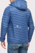 Оптом Куртка мужская стеганная синего цвета 1858S в Нижнем Новгороде, фото 2