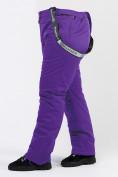 Оптом Брюки горнолыжные женские большого размера фиолетового цвета 1878F в Екатеринбурге, фото 8