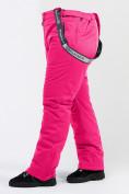 Оптом Брюки горнолыжные женские большого размера розового цвета 1878R в Екатеринбурге, фото 8