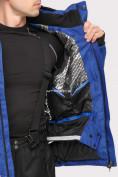 Оптом Куртка горнолыжная мужская синего цвета 1901S в Казани, фото 6