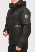 Оптом Куртка горнолыжная мужская черного цвета 1901Ch в Казани, фото 2