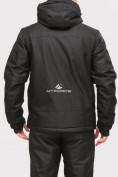 Оптом Куртка горнолыжная мужская черного цвета 1901Ch в Казани, фото 3