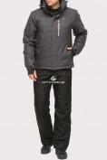 Оптом Костюм горнолыжный мужской темно-серого цвета 01901TC в  Красноярске
