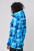 Оптом Костюм женский softshell синего цвета 01923S в  Красноярске, фото 11