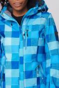 Оптом Костюм женский softshell синего цвета 01923S в  Красноярске, фото 12