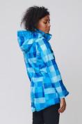 Оптом Костюм женский softshell синего цвета 01923S в  Красноярске, фото 6