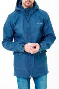 Оптом Парка softshell мужская синего цвета 1904S в Екатеринбурге, фото 2