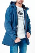 Оптом Парка softshell мужская синего цвета 1904S в Екатеринбурге, фото 5