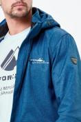 Оптом Парка softshell мужская синего цвета 1904S в Екатеринбурге, фото 6