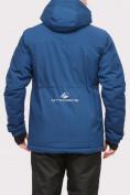 Оптом Куртка горнолыжная мужская синего цвета 1910S в  Красноярске, фото 3