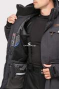 Оптом Куртка горнолыжная мужская темно-серого цвета 1910TC в  Красноярске, фото 5