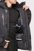 Оптом Куртка горнолыжная мужская темно-серого цвета 1910TC в  Красноярске, фото 6