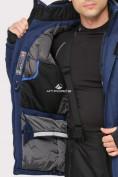 Оптом Костюм горнолыжный мужской темно-синего цвета 01911TS в Казани, фото 7