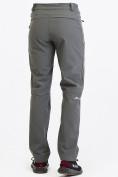 Оптом Брюки мужские из ткани softshell серого цвета  19121Sr, фото 6