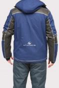 Оптом Куртка горнолыжная мужская темно-синего цвета 1912TS в  Красноярске, фото 4