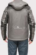 Оптом Куртка горнолыжная мужская серого цвета 1912Sr, фото 4