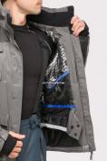 Оптом Куртка горнолыжная мужская серого цвета 1912Sr, фото 7