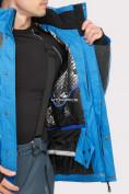 Оптом Костюм горнолыжный мужской синего цвета 01912S в Казани, фото 8