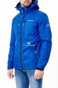 Оптом Молодежная куртка мужская синего цвета 1913S в Екатеринбурге, фото 2
