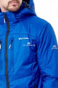 Оптом Молодежная куртка мужская синего цвета 1913S в Екатеринбурге, фото 5