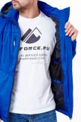 Оптом Молодежная куртка мужская синего цвета 1913S в Екатеринбурге, фото 6
