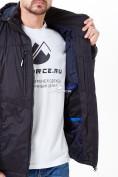 Оптом Молодежная куртка мужская черного цвета 1913Ch в Казани, фото 7