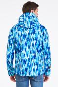 Оптом Ветровка softshell мужская синего цвета 1915S в Казани, фото 5