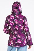 Оптом Ветровка softshell женская фиолетового цвета 1977F в Казани, фото 6