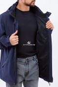 Оптом Ветровка softshell мужская большого размера темно-синего цвета 1921TS в Екатеринбурге, фото 10