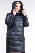 Оптом Куртка зимняя женская молодежная темно-синего цвета 191923_02TS в Казани, фото 5