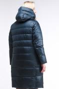Оптом Куртка зимняя женская молодежная темно-зеленого цвета 191923_03TZ в Казани, фото 5
