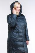Оптом Куртка зимняя женская молодежная темно-зеленого цвета 191923_03TZ в Казани, фото 6