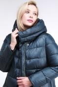 Оптом Куртка зимняя женская молодежная темно-зеленого цвета 191923_03TZ в Казани, фото 7
